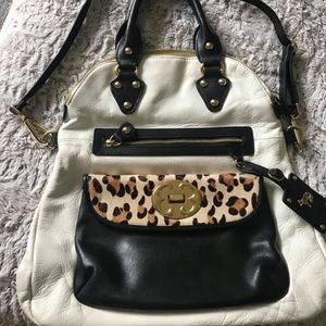 Emma Fox leather bag in good condition